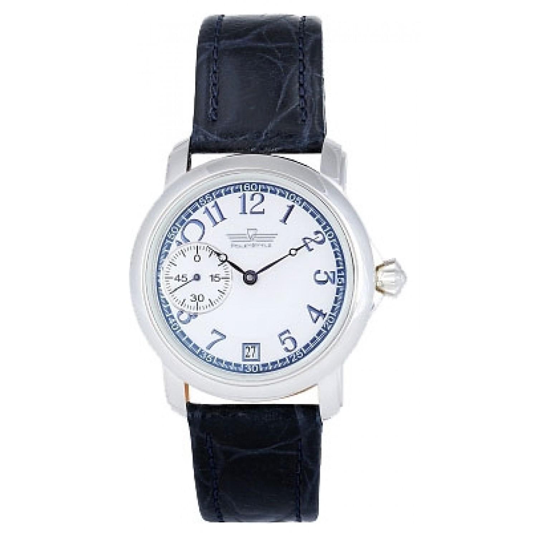 3105/119109 российские серебрянные механические наручные часы Полёт-Стиль  3105/119109