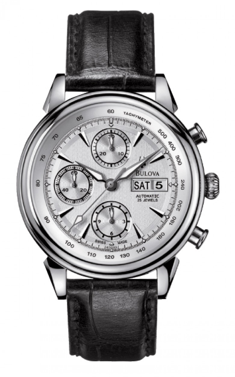 63C03 швейцарские наручные часы Bulova  63C03