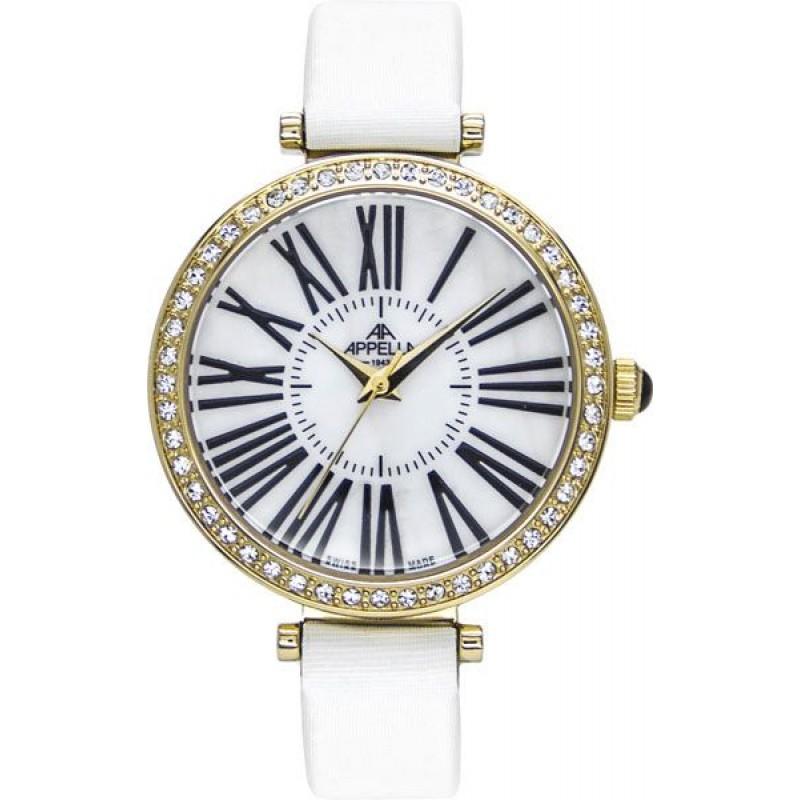 AP.4430.01.1.1.01 швейцарские женские кварцевые наручные часы Appella