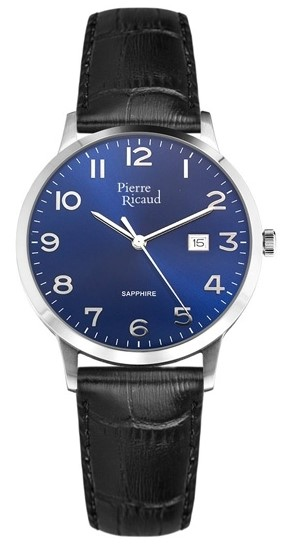 "P91022.5225Q  кварцевые с функциями хронографа часы Pierre Ricaud ""Starp"" с сапфировым стеклом P91022.5225Q"