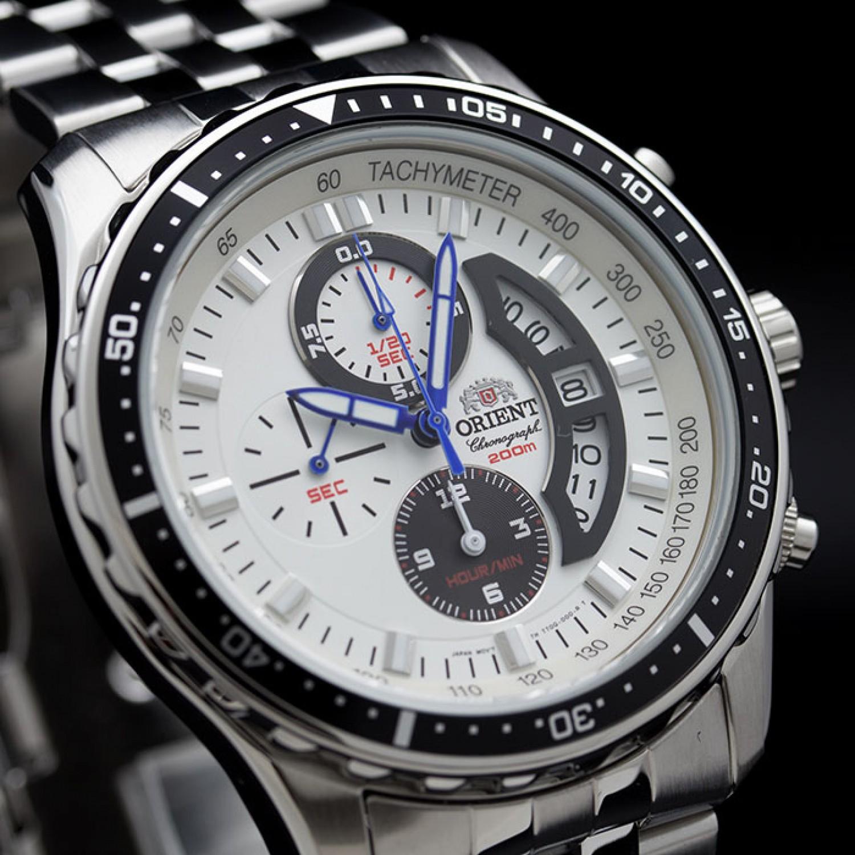"""FTT0Q001W0 японские водонепроницаемые кварцевые наручные часы Orient """"Sporty Quartz"""" для мужчин  FTT0Q001W0"""