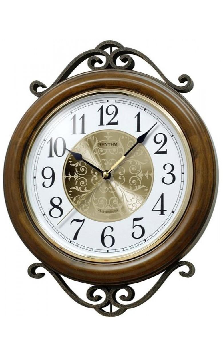 CMH754NR06 Часы RHYTHM настенные с мелодией