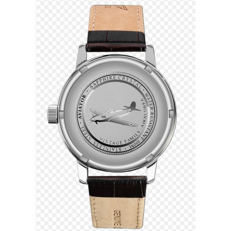 V.1.17.0.104.5 российские мужские кварцевые часы Aviator