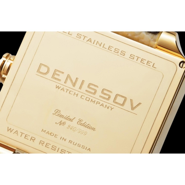 """955.112.4027.6.G.583 российские кварцевые наручные часы Денисов """"ENIGMA"""" для женщин  955.112.4027.6.G.583"""
