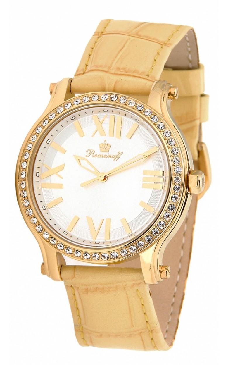 1071A1GOL российские кварцевые наручные часы Romanoff для женщин  1071A1GOL