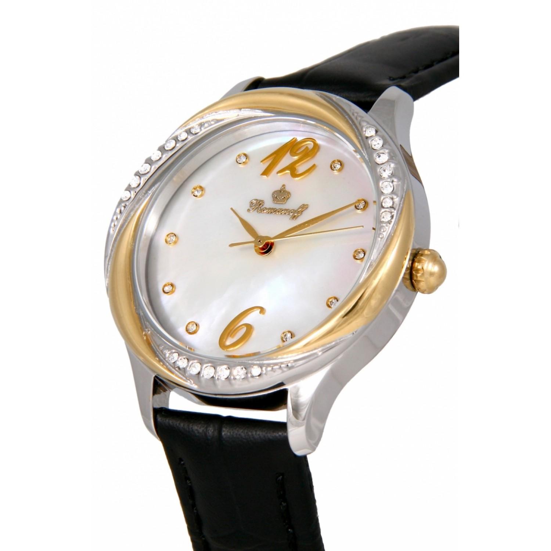 """3721T/TA1BL российские кварцевые наручные часы Romanoff """"Элеганс"""" для женщин  3721T/TA1BL"""