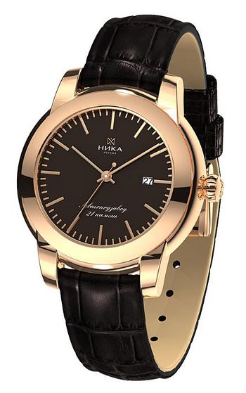 """1070.0.1.65A российские золотые механические наручные часы Ника """"Celebrity"""" для женщин  1070.0.1.65A"""
