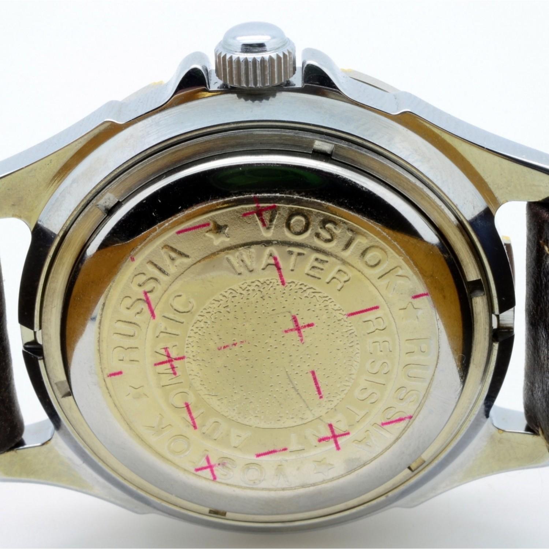 301103/2416 российские военные мужские механические часы Восток