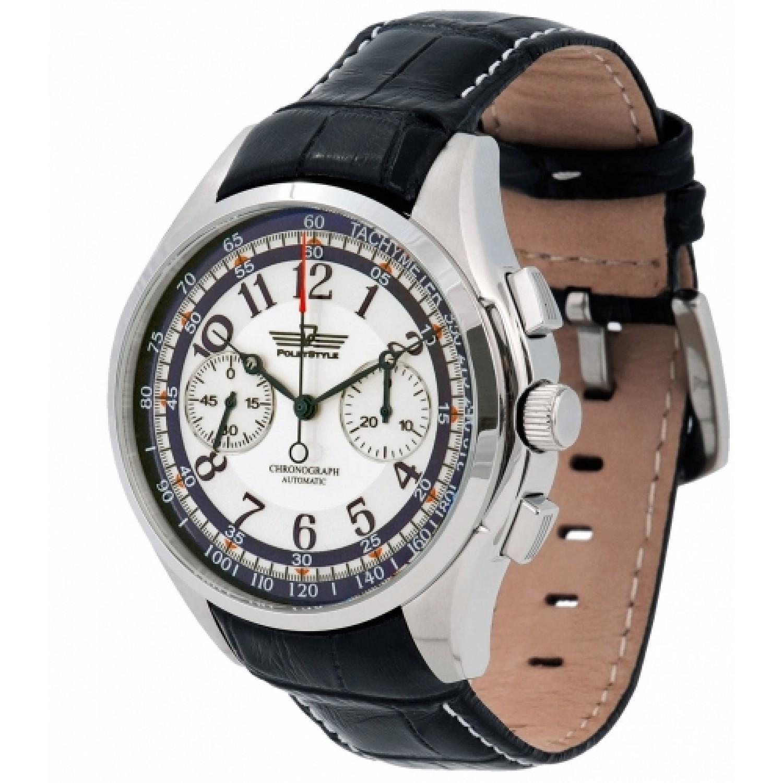 3140/9151318 российские мужские механические наручные часы Полёт-Стиль  3140/9151318