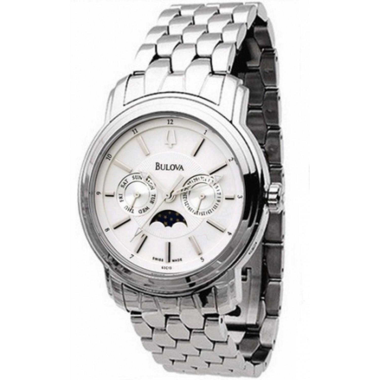 63C13 швейцарские мужские кварцевые наручные часы Bulova  63C13
