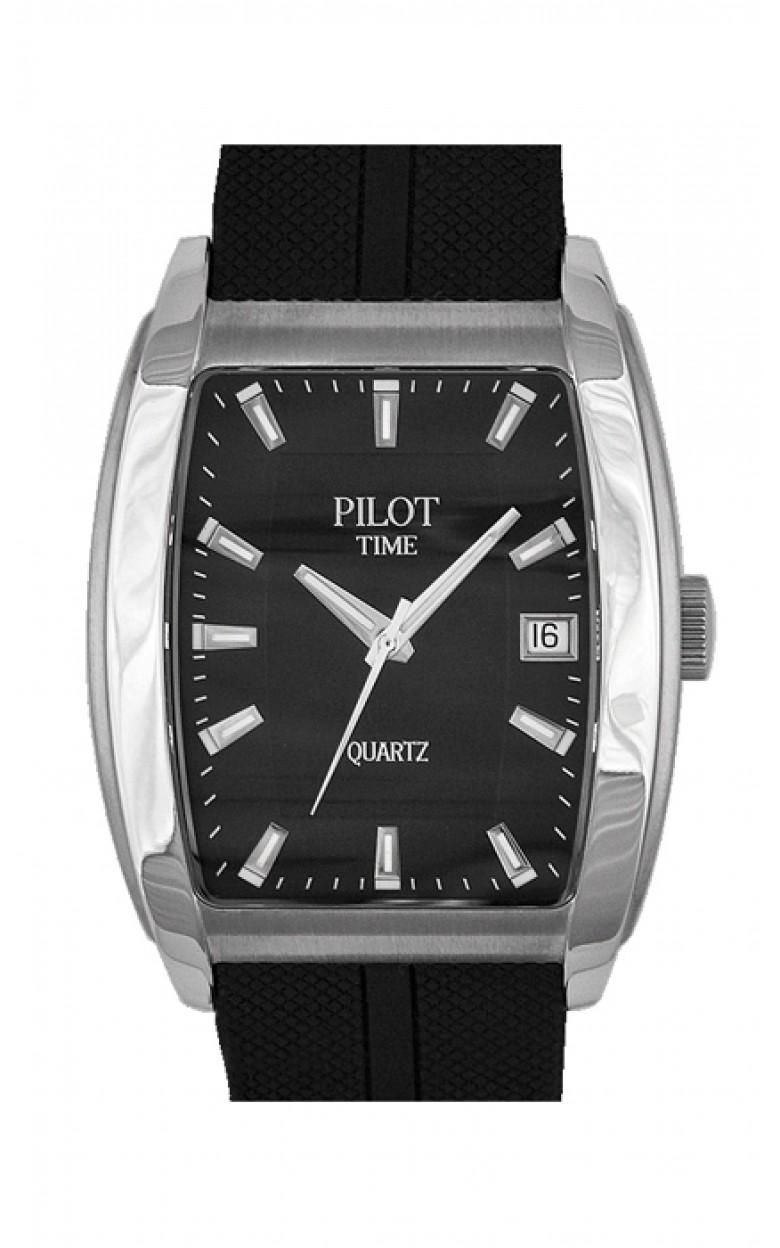 1250590 российские мужские кварцевые часы Pilot-Time