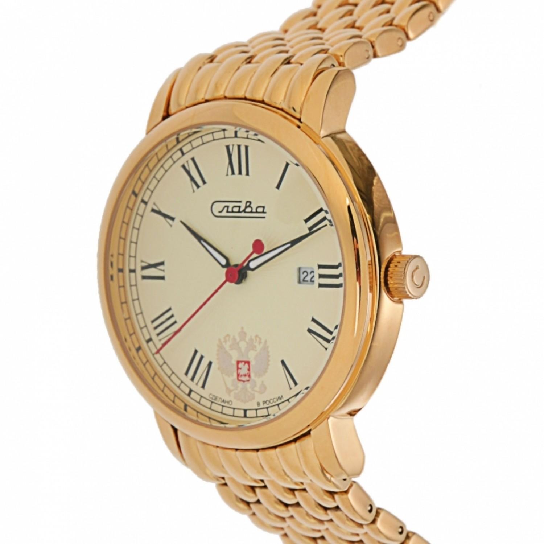 1419711/2115-100 российские мужские кварцевые наручные часы Слава