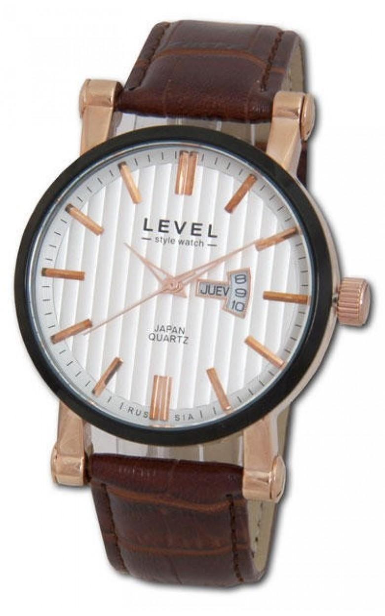 2105/3119237R российские мужские кварцевые часы Level  2105/3119237R