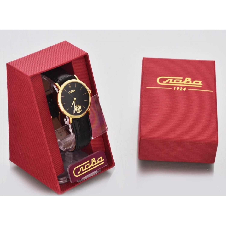1129378/300-2035 российские универсальные кварцевые часы Слава