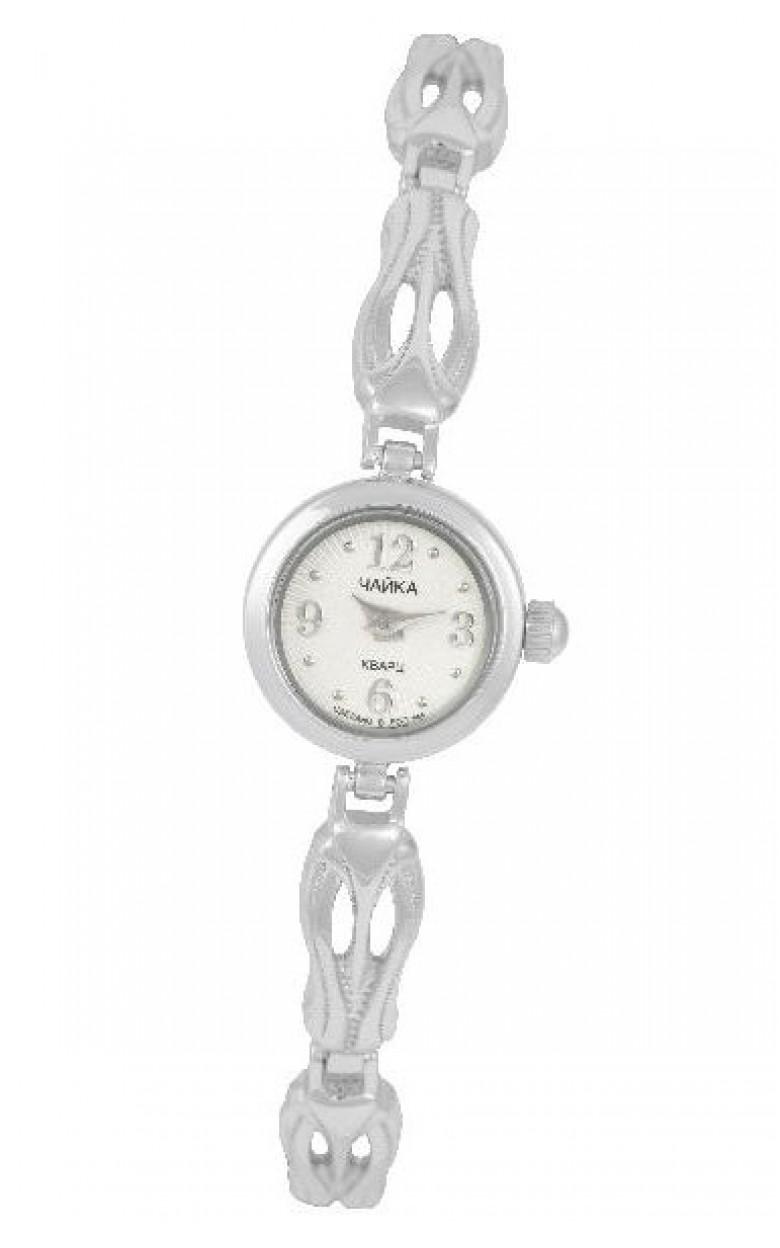 97000.112 российские серебрянные женские кварцевые часы Platinor