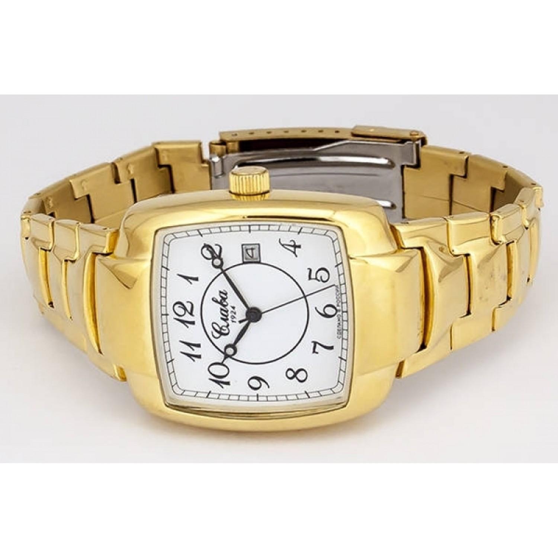 0919877/100-2414 российские мужские механические часы Слава