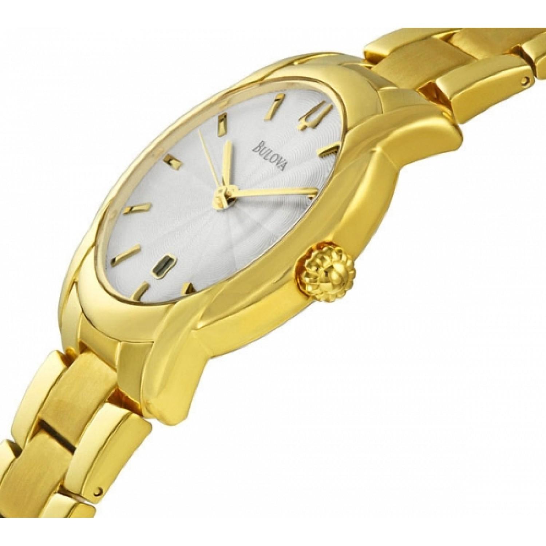 97B107 BU0155 швейцарские кварцевые наручные часы Bulova для мужчин  97B107 BU0155
