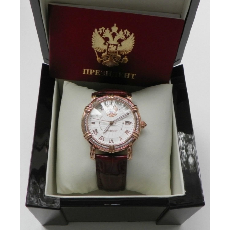 4459471 российские мужские механические наручные часы Президент