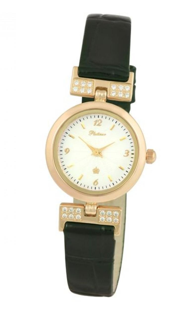 98256.105 российские золотые женские кварцевые наручные часы Platinor