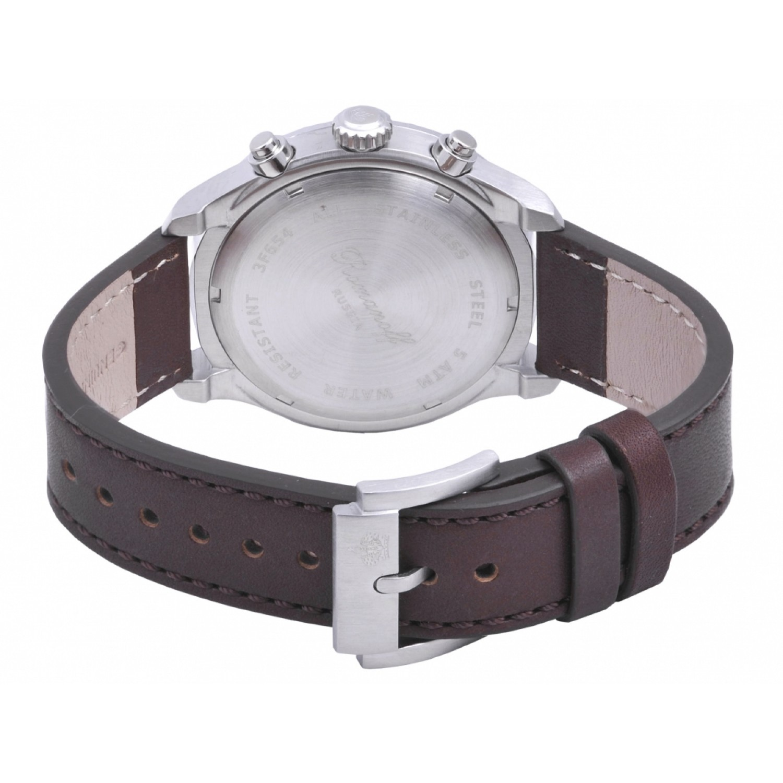 "3654T/TB4BR российские кварцевые наручные часы Romanoff ""Chronoscope"" для мужчин  3654T/TB4BR"