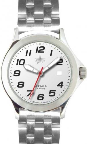 """С2100254-04 российские мужские кварцевые наручные часы Спецназ """"Атака""""  С2100254-04"""