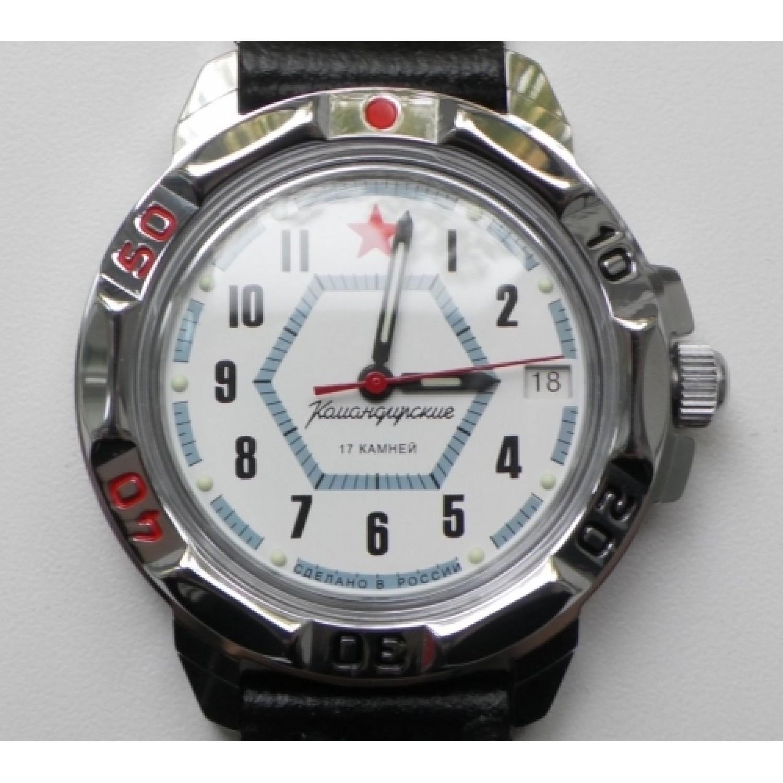 431719/2414 российские военные мужские механические часы Восток
