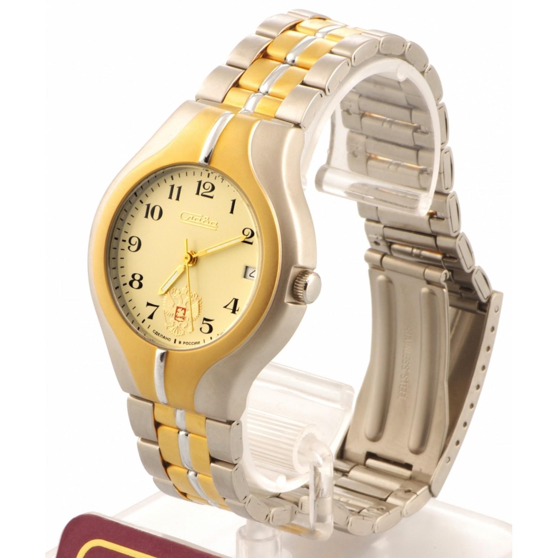 1375673/100-2416 российские механические наручные часы Слава