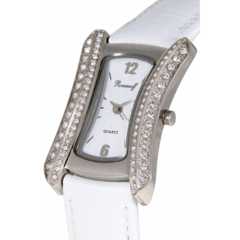 """40509G1WL российские женские кварцевые наручные часы Romanoff """"Элеганс""""  40509G1WL"""