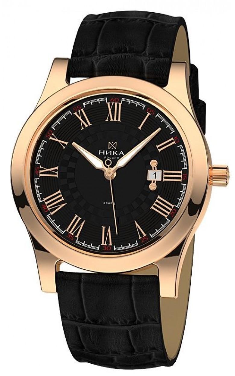 """1060.0.1.51Н российские золотые мужские кварцевые часы Ника """"Gentleman""""  1060.0.1.51Н"""