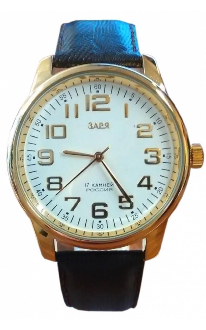 2609K/G5123211 российские механические наручные часы Заря для мужчин  2609K/G5123211