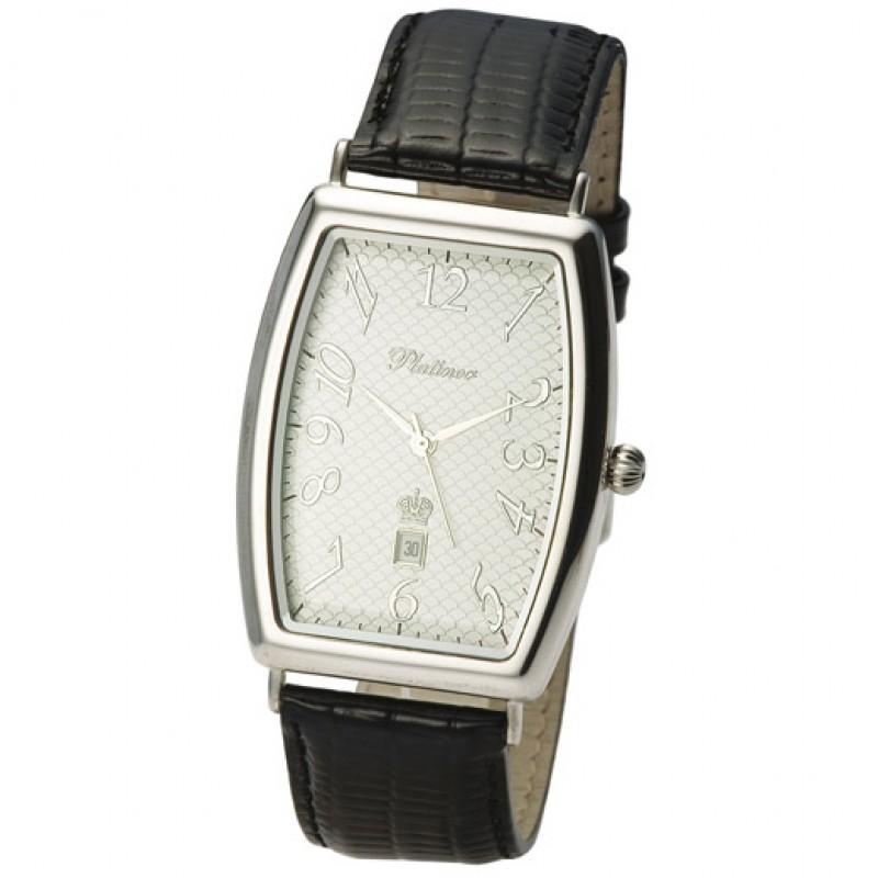 "54000.305 Часы наручные мужские ""Балтика"" кварцевые серебро 925*"
