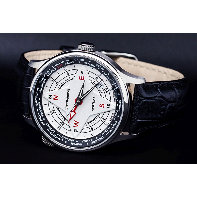 51524/3331818 российские мужские кварцевые часы Штурманские