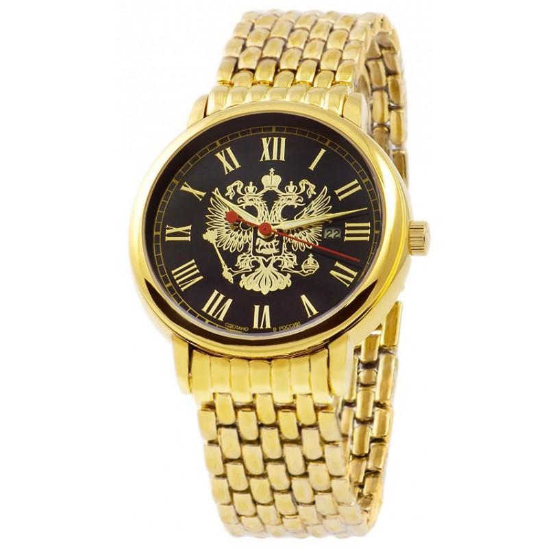 1419733/2115-100 российские мужские кварцевые часы Слава