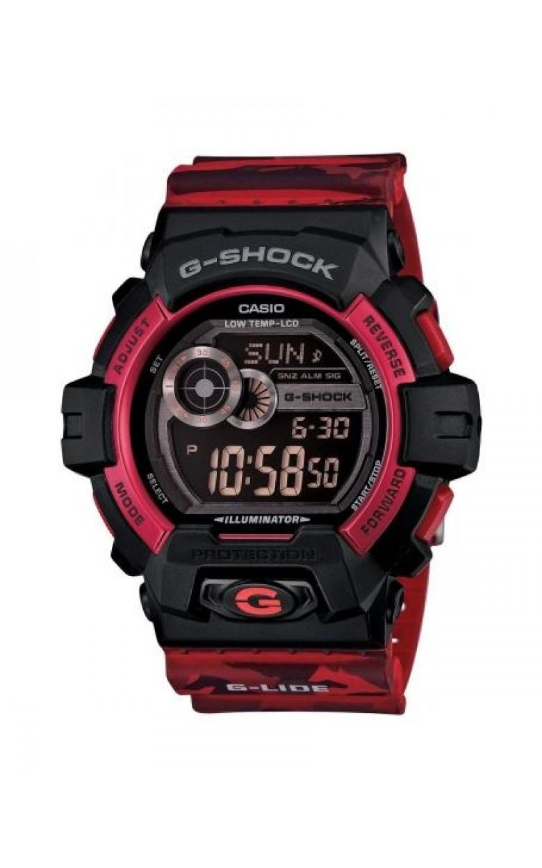 """GLS-8900CM-4E японские водонепроницаемые мужские кварцевые наручные часы Casio """"G-SHOCK""""  GLS-8900CM-4E"""
