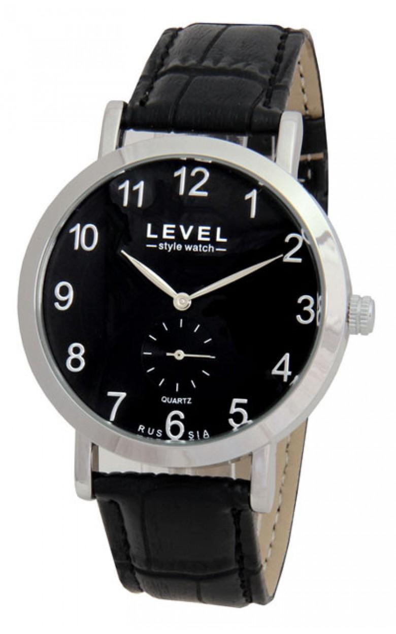 6T28/3181411 российские кварцевые наручные часы Level для мужчин  6T28/3181411