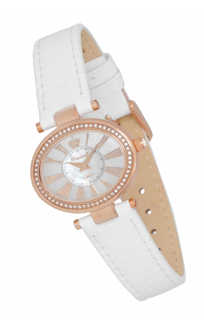 "10459B1W российские женские кварцевые наручные часы Romanoff ""Элеганс""  10459B1W"
