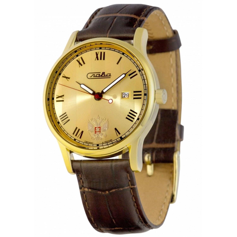1409726/2115-300 российские мужские кварцевые наручные часы Слава