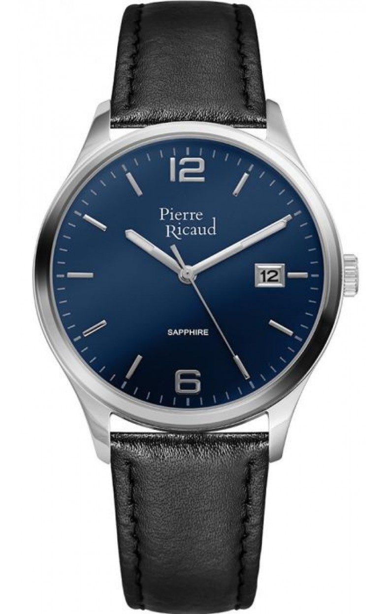 "P91086.5255Q  кварцевые наручные часы Pierre Ricaud ""Strap"" с сапфировым стеклом P91086.5255Q"