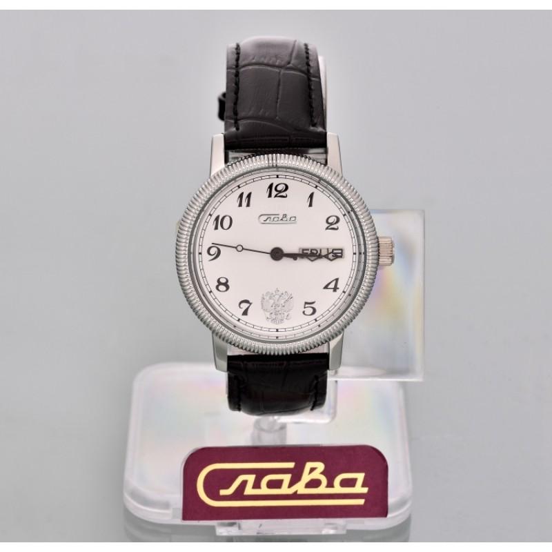 """1111266/300-2427 российские механические наручные часы Слава """"Премьер"""" для мужчин  1111266/300-2427"""
