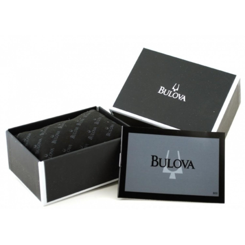 63M25 швейцарские кварцевые наручные часы Bulova для женщин  63M25