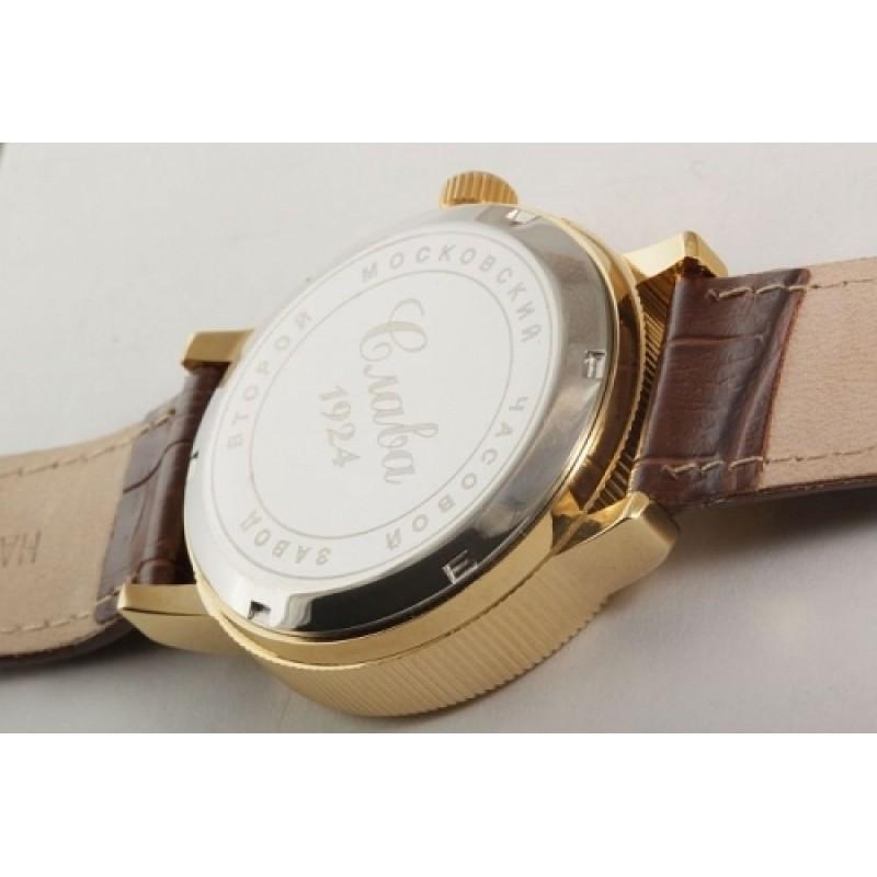 """1119263/300-2427 российские механические наручные часы Слава """"Премьер"""" для мужчин  1119263/300-2427"""
