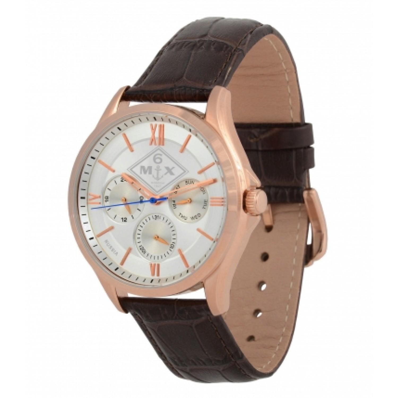 7000/1629241 российские кварцевые наручные часы Полёт-Стиль для мужчин  7000/1629241