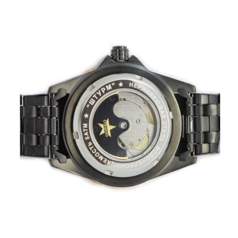 """С8294167-1612 российские мужские механические наручные часы Спецназ """"Штурм"""" для военных  С8294167-1612"""