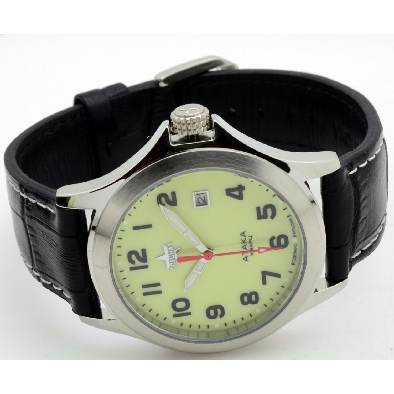 С2100312-2115-05 российские военные кварцевые наручные часы Спецназ
