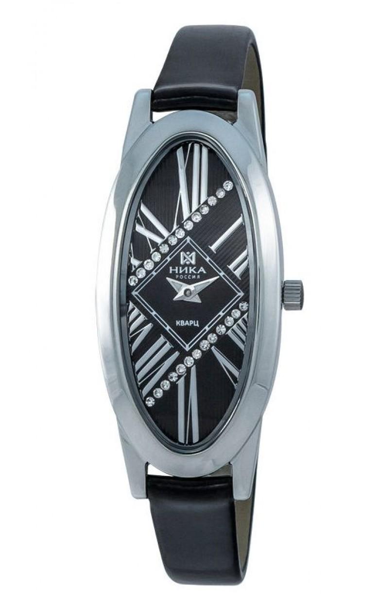 1861.0.9.53А-11,60 российские серебрянные кварцевые наручные часы Ника
