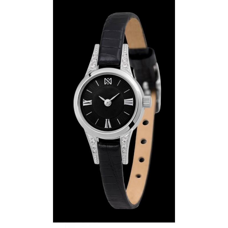 0304.2.9.53C российские серебрянные женские кварцевые наручные часы Ника  0304.2.9.53C