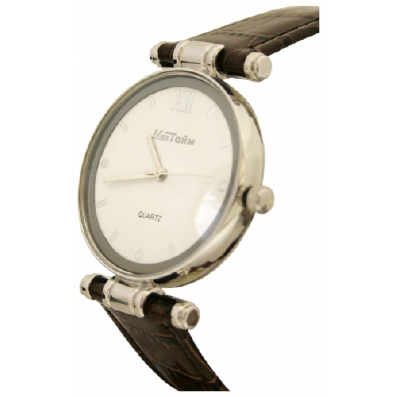 0.2303.4-16,31 российские серебрянные кварцевые наручные часы Мактайм для мужчин  0.2303.4-16,31
