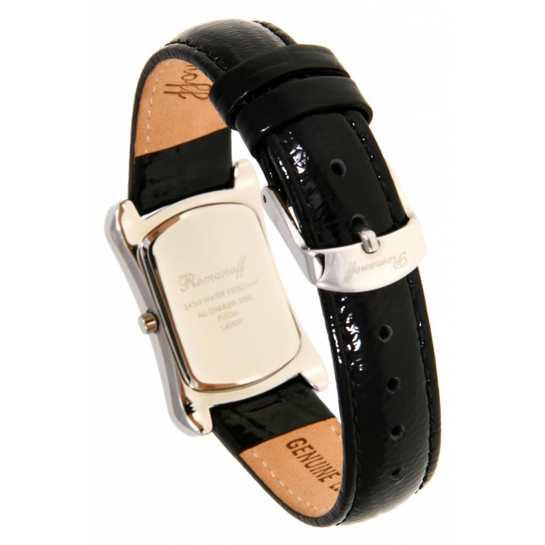 """40509G1BLL российские женские кварцевые часы Romanoff """"Элеганс""""  40509G1BLL"""