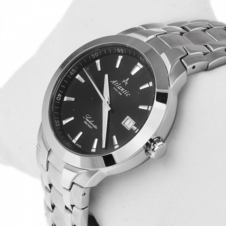 63356.41.61 швейцарские кварцевые наручные часы Atlantic