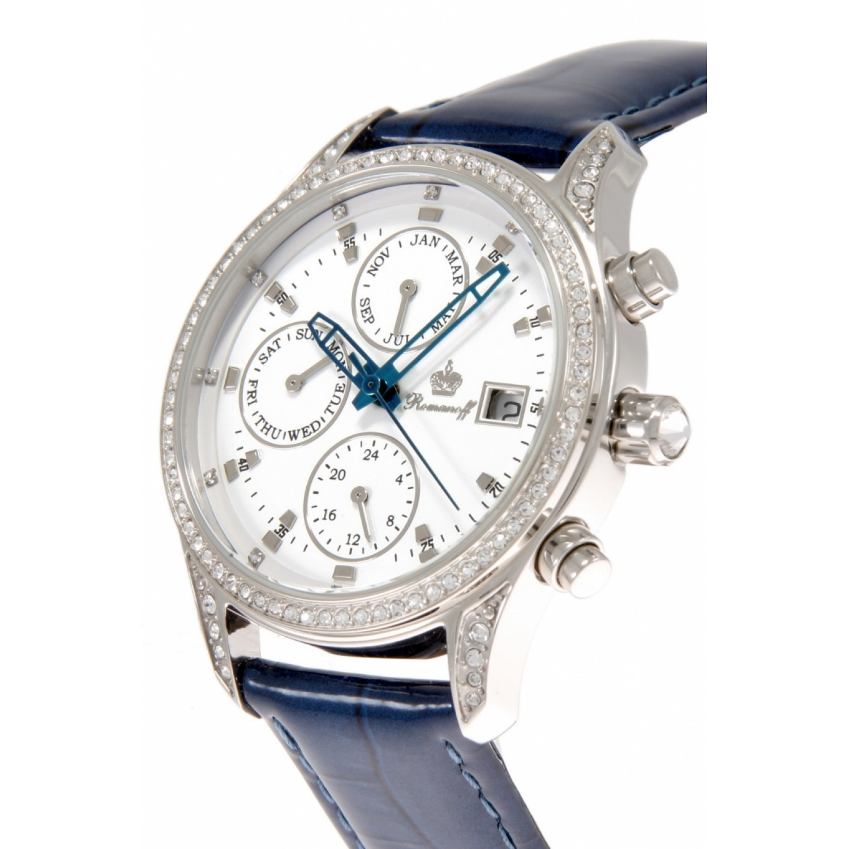 4952G1BUL российские кварцевые наручные часы Romanoff для женщин  4952G1BUL